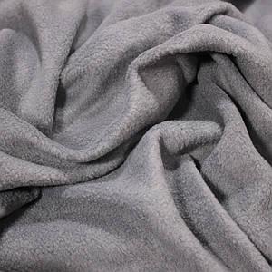 Ткань флис серый