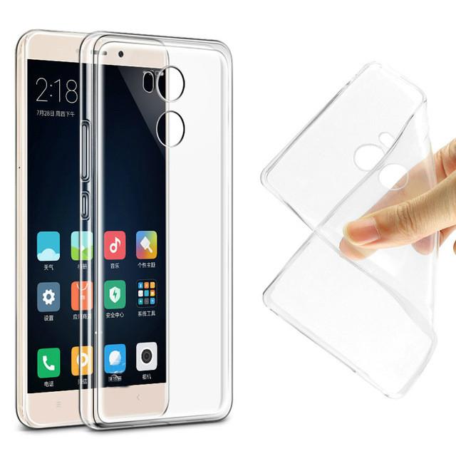 Чехол SMTT для Xiaomi Redmi Note 4X - прозорий