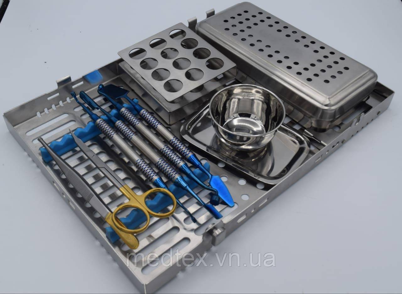 PRF, PRP BOX (бокс для плазмолифтинга) + набор инструментов + касета для стирилизации
