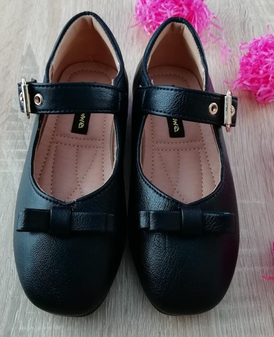 Туфли для девочек Черный М41-1 Apawwa Румыния