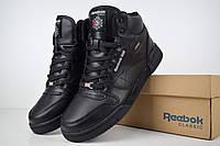 Зимние мужские кроссовки Reebok Workout High, Реплика, фото 1