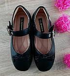 Туфли для девочек Черный М41-1 Apawwa Румыния, фото 2