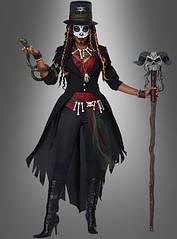 Женский карнавальный костюм куклы вуду