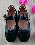Туфли для девочек Черный М41-1 Apawwa Румыния, фото 5