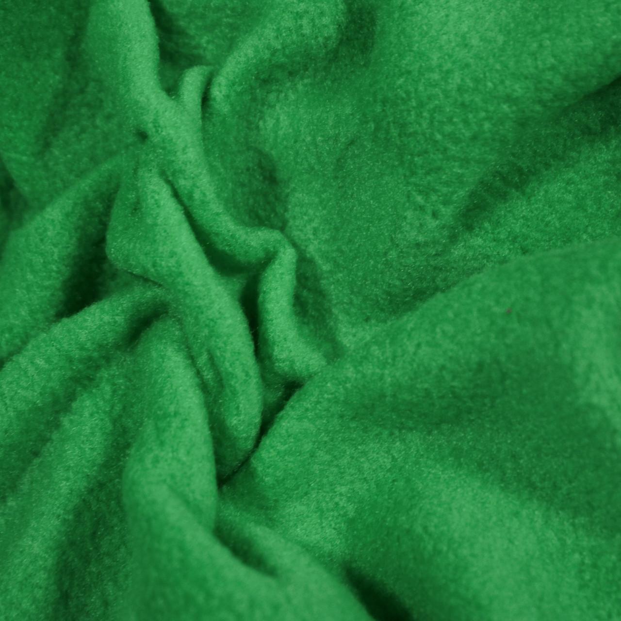 Ткань флис зеленый (трава)