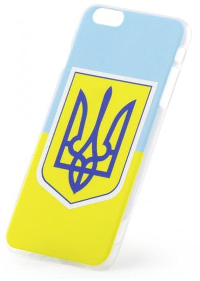 Чехол-накладка Essence iPhone 6 plus Flag and Gerb of Ukraine