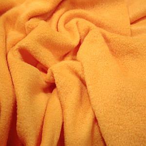 Ткань флис оранжевый