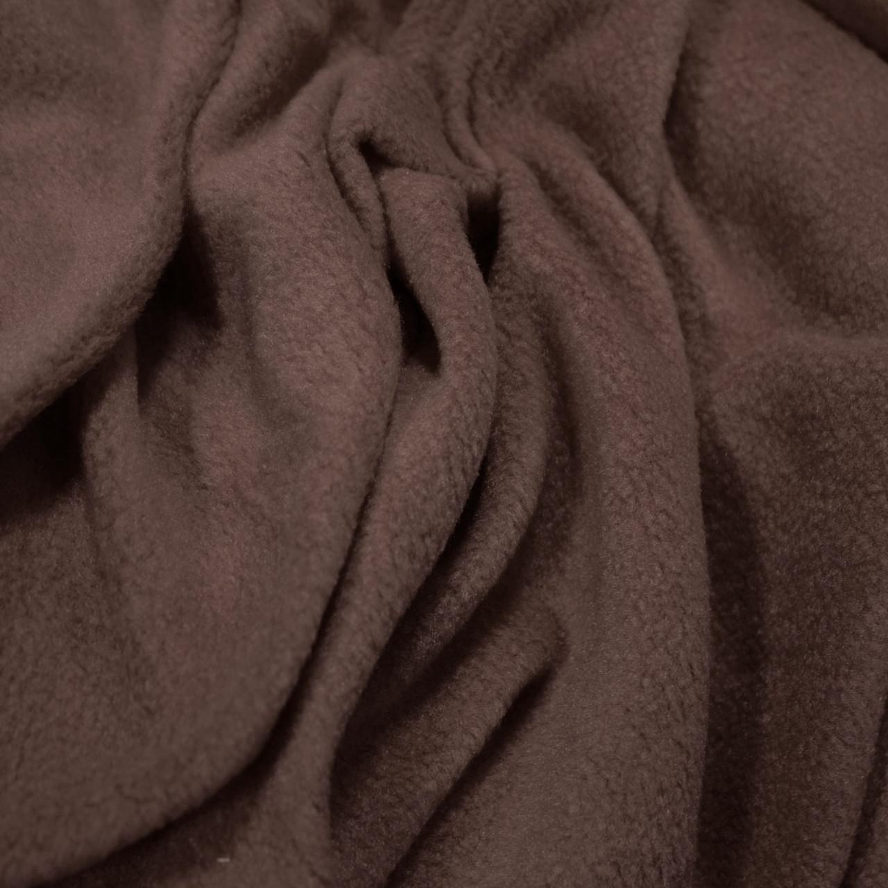 Ткань флис шоколад