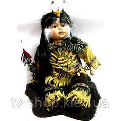 Порцелянова лялька Індіанець (52 см)