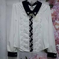 Нарядные блузки в категории блузки и туники для девочек в Украине ... e89fd72a3c4e3