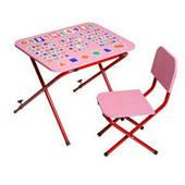 Парта складная со стульчиком Ommi Optima (3 цвета)