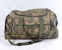 Воєнна дорожня сумка транспортна індивідуальна ЗСУ CARGO 50 літрів український піксель (транспортная военная)