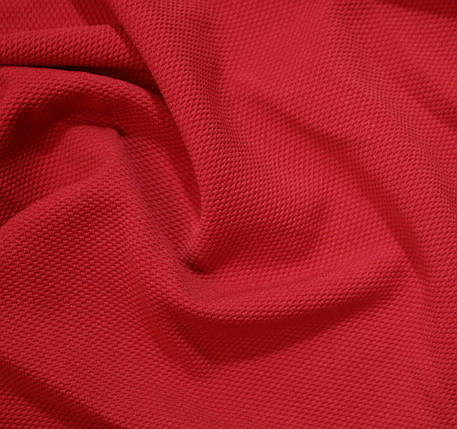 Трикотаж кукуруза красный, фото 2