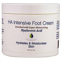 Hyalogic LLC, Интенсивный крем для ног с гиалуроновой кислотой, 4 унции (113,4 г)