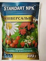 Удобрение комплексное минеральное Стандарт NPK Универсальное 100 граммов  Агрохимпак