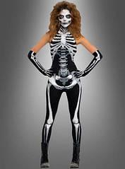 Женский костюм скелета