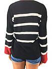 Женский свитер в яркую полоску, фото 4