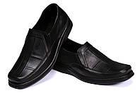 Мужские кожаные туфли Leon Clasic shoes реплика, фото 1