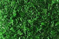 Конфетти хлопья зелёные, 50 грамм