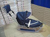 123 Комплект PICCOLINO deLux (серый з синим), фото 1