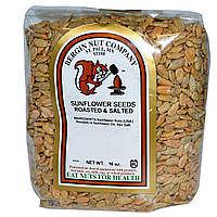 Bergin Fruit and Nut Company, Семечки, жареные и соленые, 16 унций