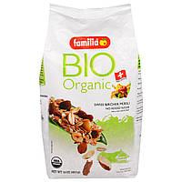 Familia, Bio Organic, Швейцарские Мюсли Бирхер, 16 унций (453 г)