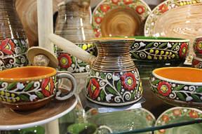 Посуда в Украинском Этно стиле