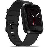 Умные часы Smart Watch Zeblaze Crystal 2 Black ip67 измерение пульса 180 мАч