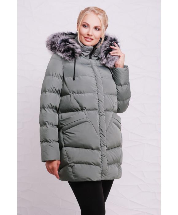 Женские зимние куртки от производителя с мехом  46-54 валюта