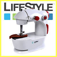 Мини Швейная машинка Sewing Machine 201 с адаптером