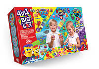 """Набор для детского творчества """"4в1 BIG CREATIVE BOX"""", BCRB-01-01, Danko Toys"""