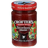 Crofter's Organic, Клубничный джем джем высшего качества, 468 г