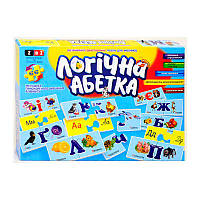 "Настольная игра ""Логічна абетка"", Danko Toys"