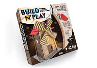"Конструктор мягкий ""BUILDNPLAY"" Мельница, Danko Toys"