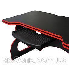 Стол детский, подростковый с тумбой Barsky Game RED LED HG-05/CUP-05/ПК-01, фото 3