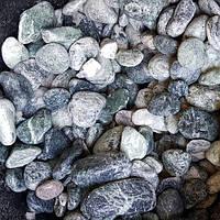 Мраморная галька зеленая Альпы 25-40 мм, фото 1