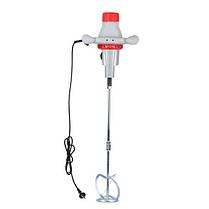 Миксер ручной электрический 1200 Вт, 2 скорости (100-400,150-700 об/мин), max 40Nm (DT-0130 Intertool), фото 2