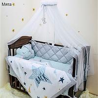 Комплект постельного белья Маленькая Соня Stich 7ед, фото 1