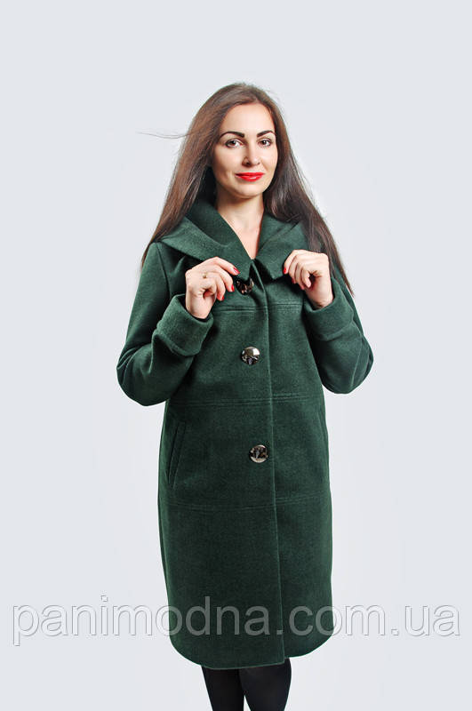 """Женское Пальто """"Леди"""" из пальтовой шерсти на подкладке. Размер 52. 54. 56. 58, фото 1"""