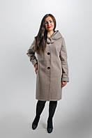 """Женское Пальто """"Леди"""" из пальтовой шерсти на подкладке. Размер 52. 54. 56. 58"""