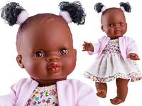 Кукла-пупс Paola Reina младенец Ольга у нежно-розовом платье, 21 см (Paola Reina 04065)