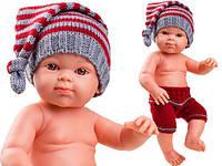Пупс младенец Paola Reina Грэнэт в красных штанах, 32 см (Paola Reina 05100)