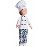 Кукла Paola Reina Карлос шеф-повар, 32 см (Paola Reina 04612)