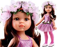 Кукла Paola Reina подружка Кэрол балерина в нежно-розовом платье и веночке, 32 см (Paola Reina 04446)