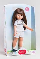 "Кукла Paola Reina брюнетка Кэрол в костюме ФК ""Реал Мадрид"", 32 см (Paola Reina 04720)"