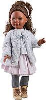 Шарнирная Кукла Paola Reina красотка Шариф в элегантной одежде с шубкой, 60 см (Paola Reina 06557)