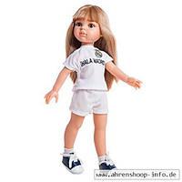 "Кукла Paola Reina блондинка Карла в костюме ФК ""Реал Мадрид"", 32 см (Paola Reina 04721)"