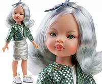Кукла Paola Reina азиатка Нора в стильном наряде, 32 см (Paola Reina 04516)
