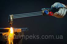 Газовый резак 374У Р3 ДОНМЕТ с вентилем трехтрубный с внутрисопловым смешением, фото 3