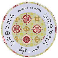 European Soaps, LLC, Urbana, свеча со смесью сои, солнце + небо, 2,5 унц. (70 г)